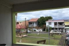 Zimmerausblick bei unseren 2. Unterkunft auf Guadeloupe