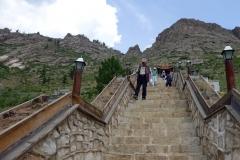Chinesen vor dem Kloster ;)