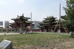 Sommerpalast vom Bogd Khan (= Chef von mongolischen Buddhisten)...