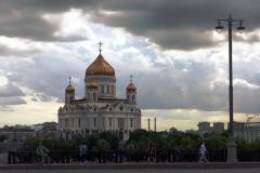 Christ-Erlöser-Kathedrale - goldene Türmchen sind schön.