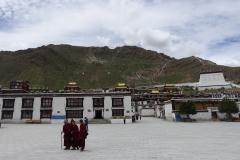 Trashilhünpo Kloster - ich werde den Namen auch jedes Mal vergessen, Sitz des Renchen Lama.