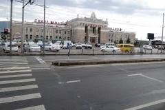 Ulaanbaatar Station (Foto vor der Abfahrt, erst dann wurde es etwas regnerischer).