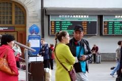 13:18 Uhr geht es weiter mit Zug Nr. 56 Richtung Krasnojarsk