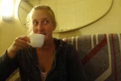 Manchmal kocht man auch einfach nur Tee - schwarzen Tee, grünen Tee, Fürchtete, einen im Tee...