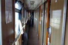 Flur in der Transsibirischen Eisenbahn
