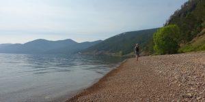 Baikalsee - auch im Sommer kalt.