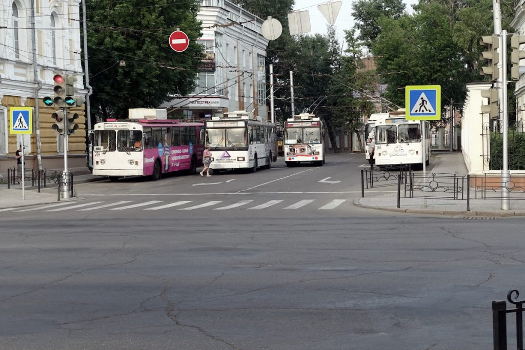 Die Armee des ÖPNV.