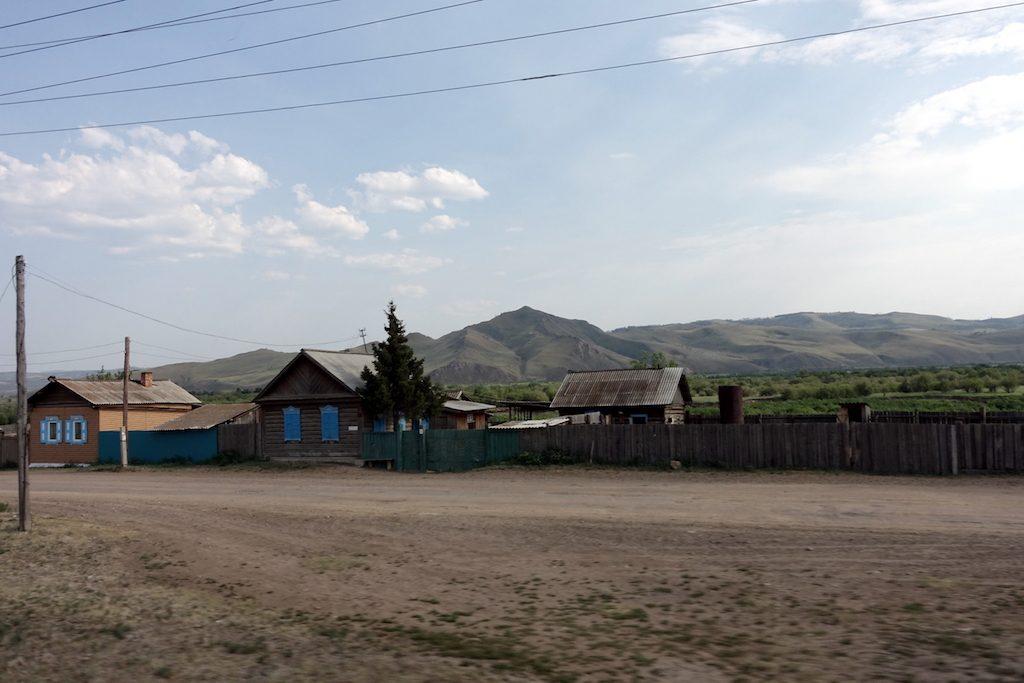 Die Dörfchen sind teilweise genauso klein und malerisch wie in Russland.