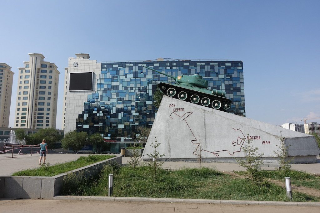 Sovjetpanzer, der sicher mal in Berlin war...