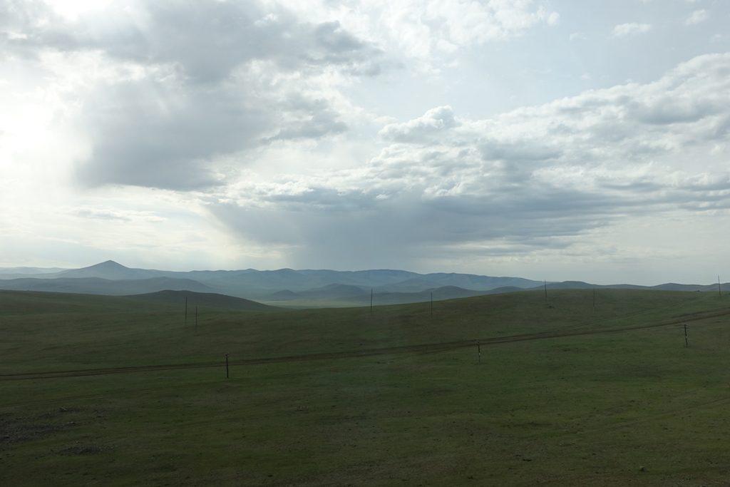 Es wird karger, man kann den Blick über die weite Landschaft schweifen lassen.