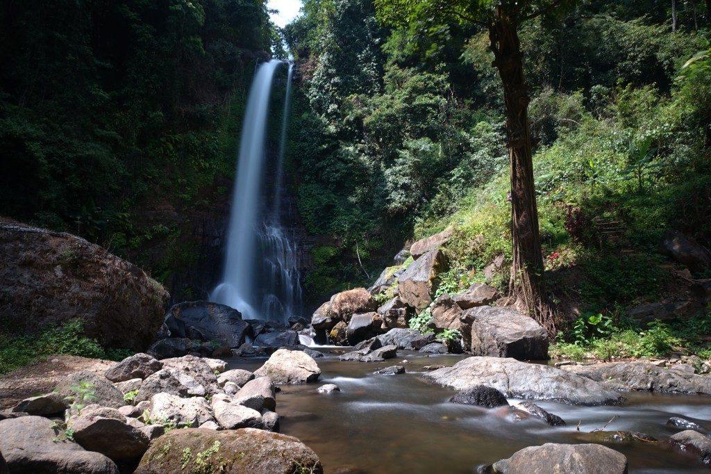 Wasserfall auf Bali.