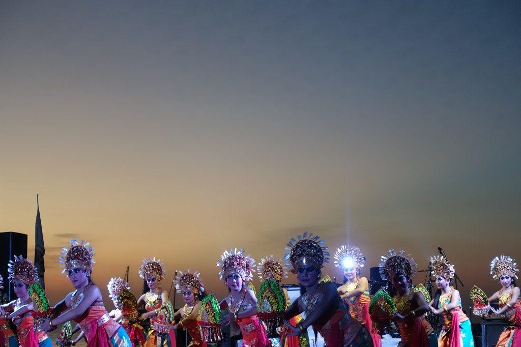 Auch wir haben dann die mehr oder weniger traditionellen Bali-Tänze gesehen