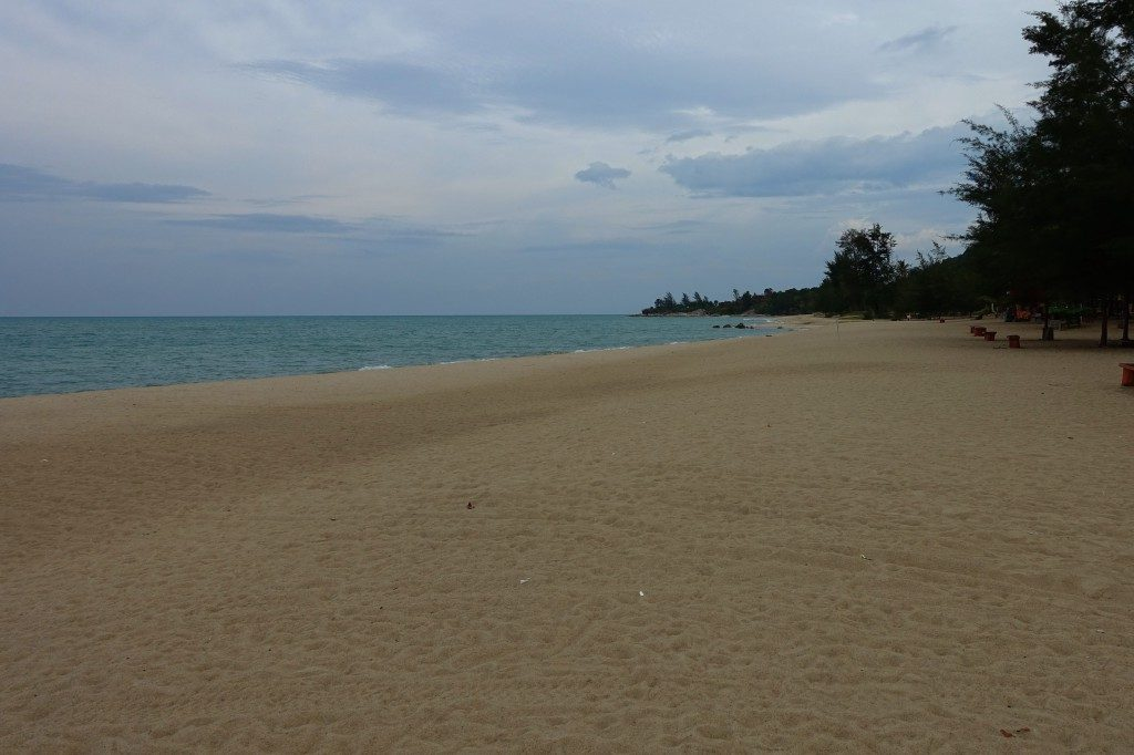 Strand auf Bangka