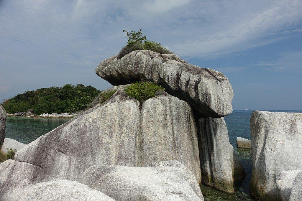 Große Steinchen