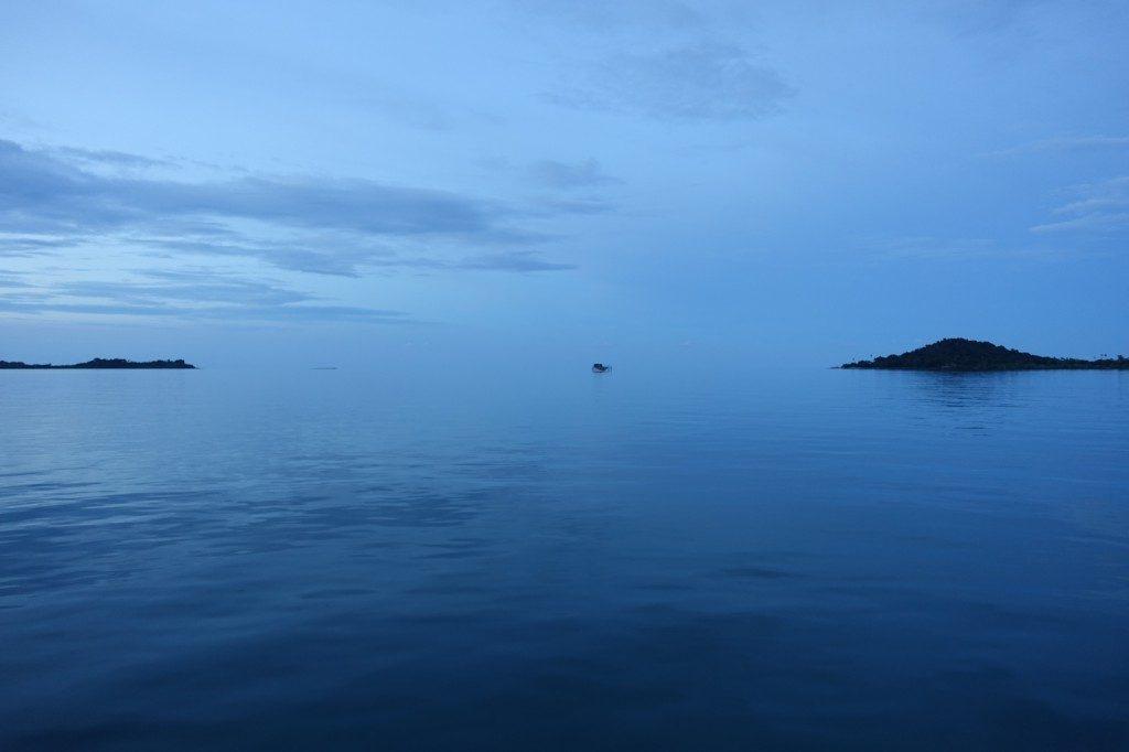 Wo hört Meer auf und wo fängt Himmel an?
