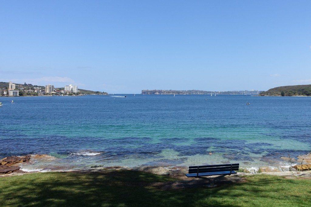 Der Eingang zum wohl besten Naturhafen der Welt: Sydney Harbour