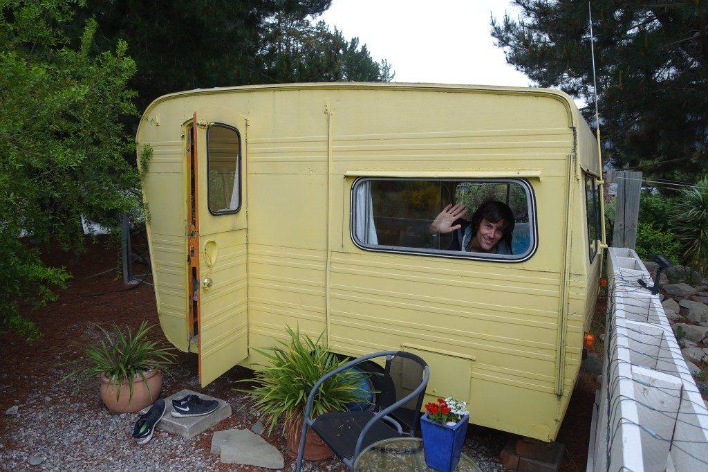 Nun kommen wir doch noch zum Campervan! Über Airbnb!