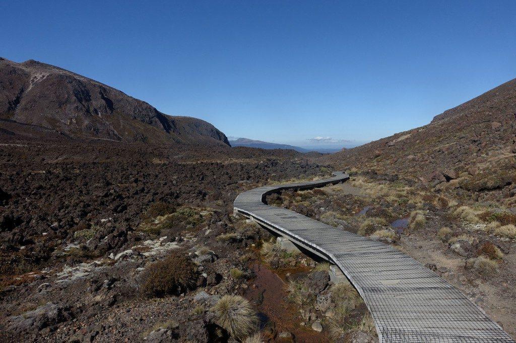 Start zum Tongariro Alpine Crossing
