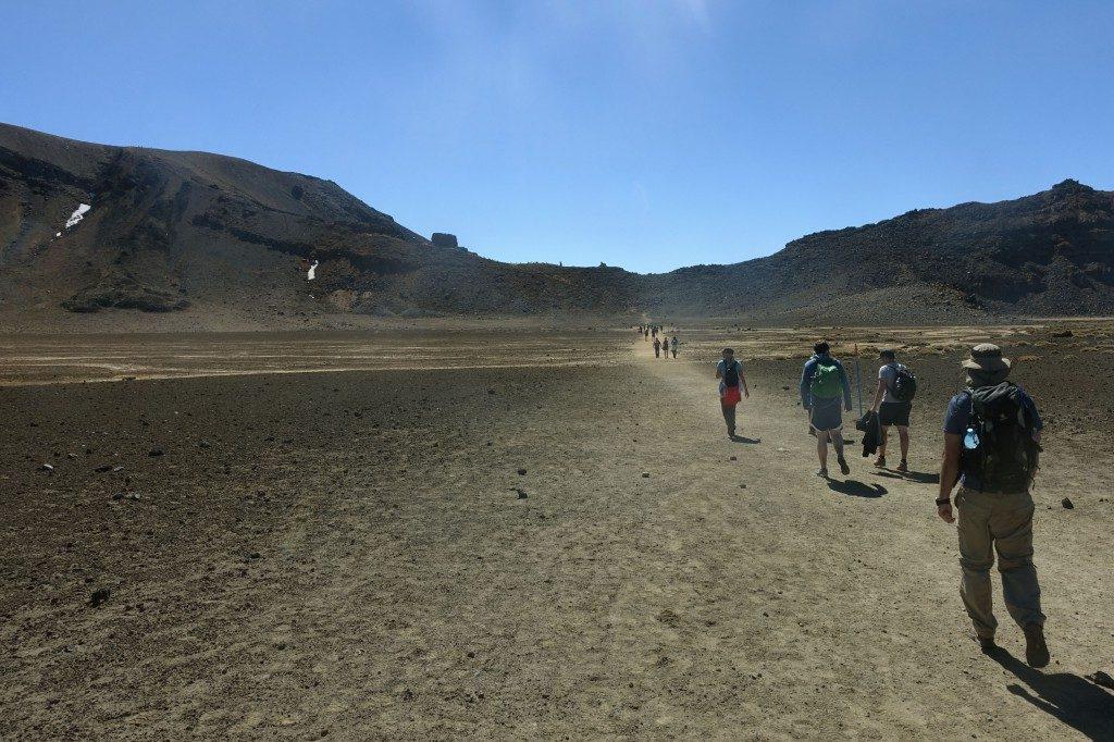 Wüste im Krater wie in Star Wars