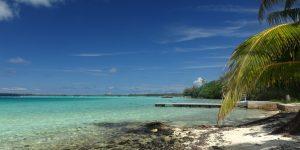 Am Strand von Bora Bora