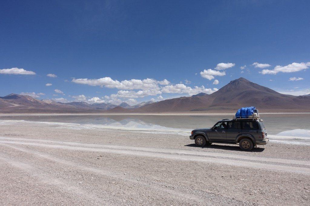 Ab mit dem 4WD Auto durchs Altiplano...