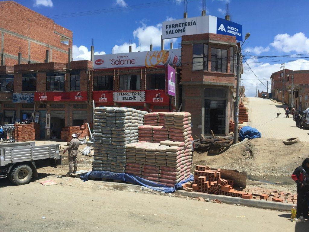 Im höher gelegenen, mittlerweile eigenständigen, Bezirk El Alto sieht es etwas anders aus