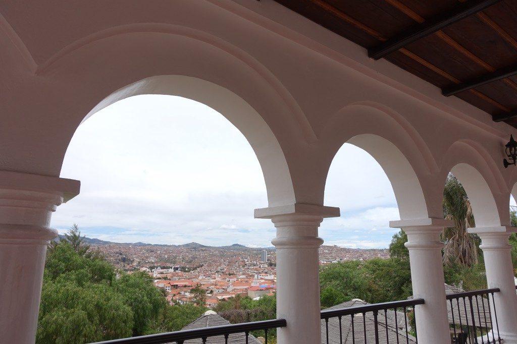 Aussicht auf Sucre