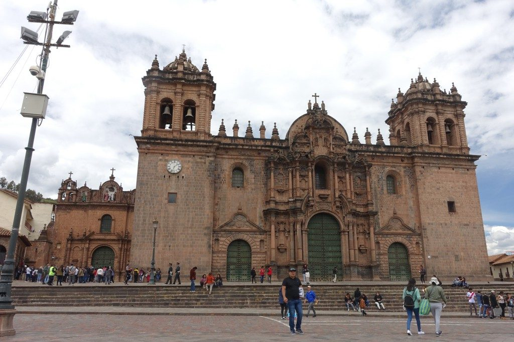 Kathedrale in Cusco am zentralen Platz