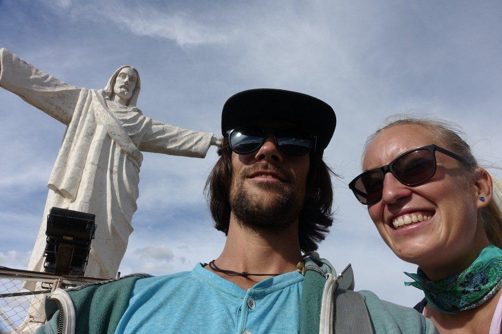 Nein, wir haben keinen Abstecher nach Rio gemacht! In Cusco ist Cristo Blanco auch zu finden...