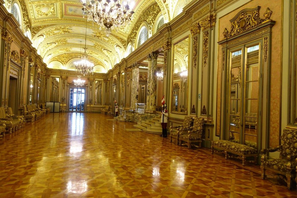 Was Versailles kann, kann Lima auch!