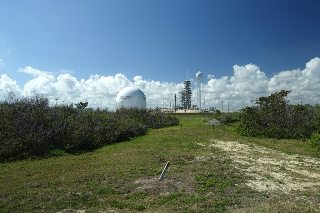 Den Rocket Launch von SPACEX mit dem Tesla haben wir leider verpasst. Hier fand das Spektakel vor ein paar Tagen statt.