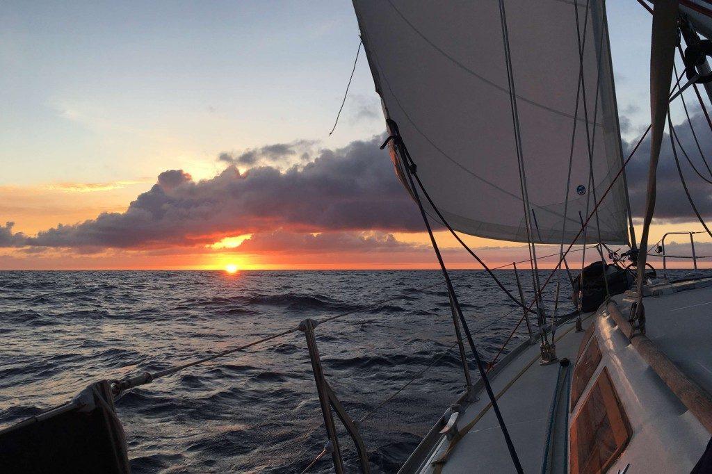 Sonnenuntergang oder Sonnenaufgang - das ist die Frage. Aber eigentlich klar oder?