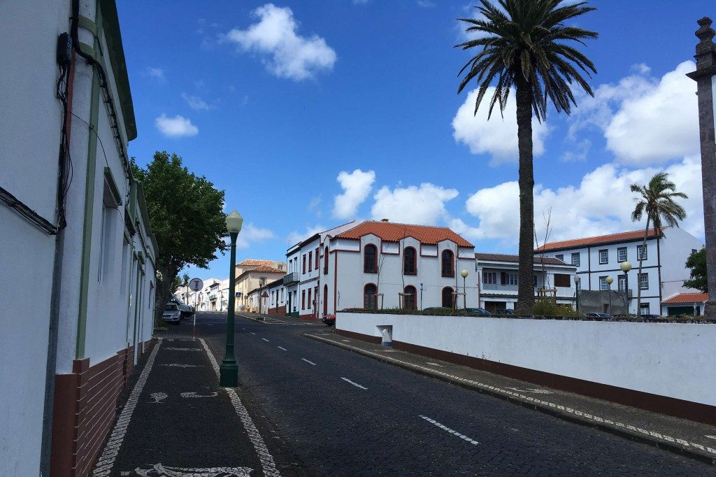 Letzter Stop auf den Azoren Vila do Porto auf Santa Maria